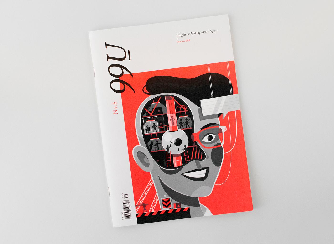 豐富的33套雜誌排版範本欣賞