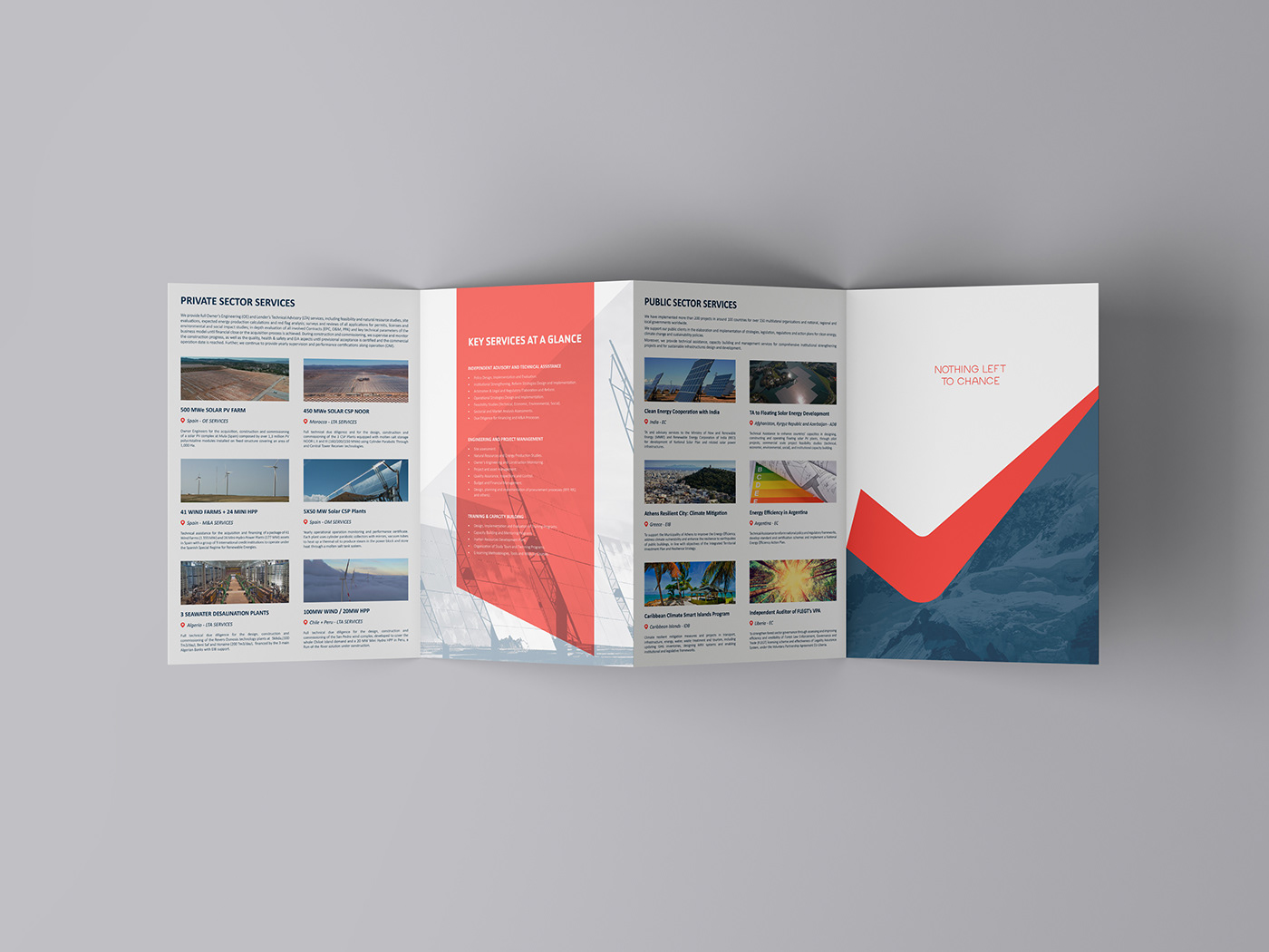 brand identity enviroment environment ledel branding oca global Renewable Energy