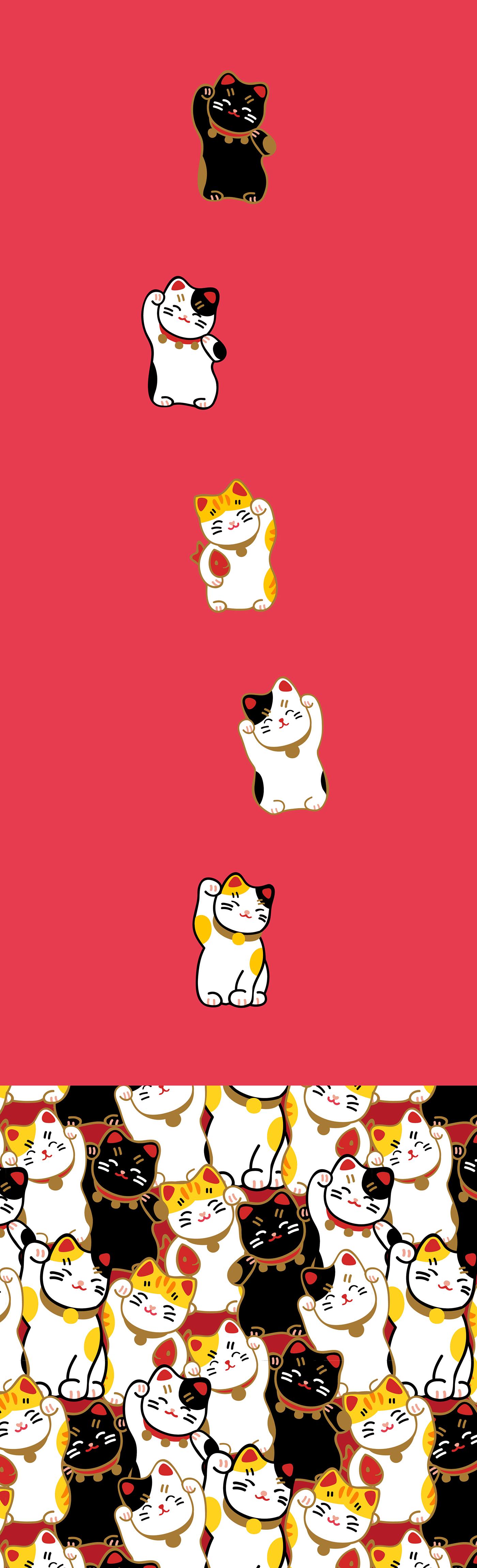 極美的19款貓咪圖案欣賞