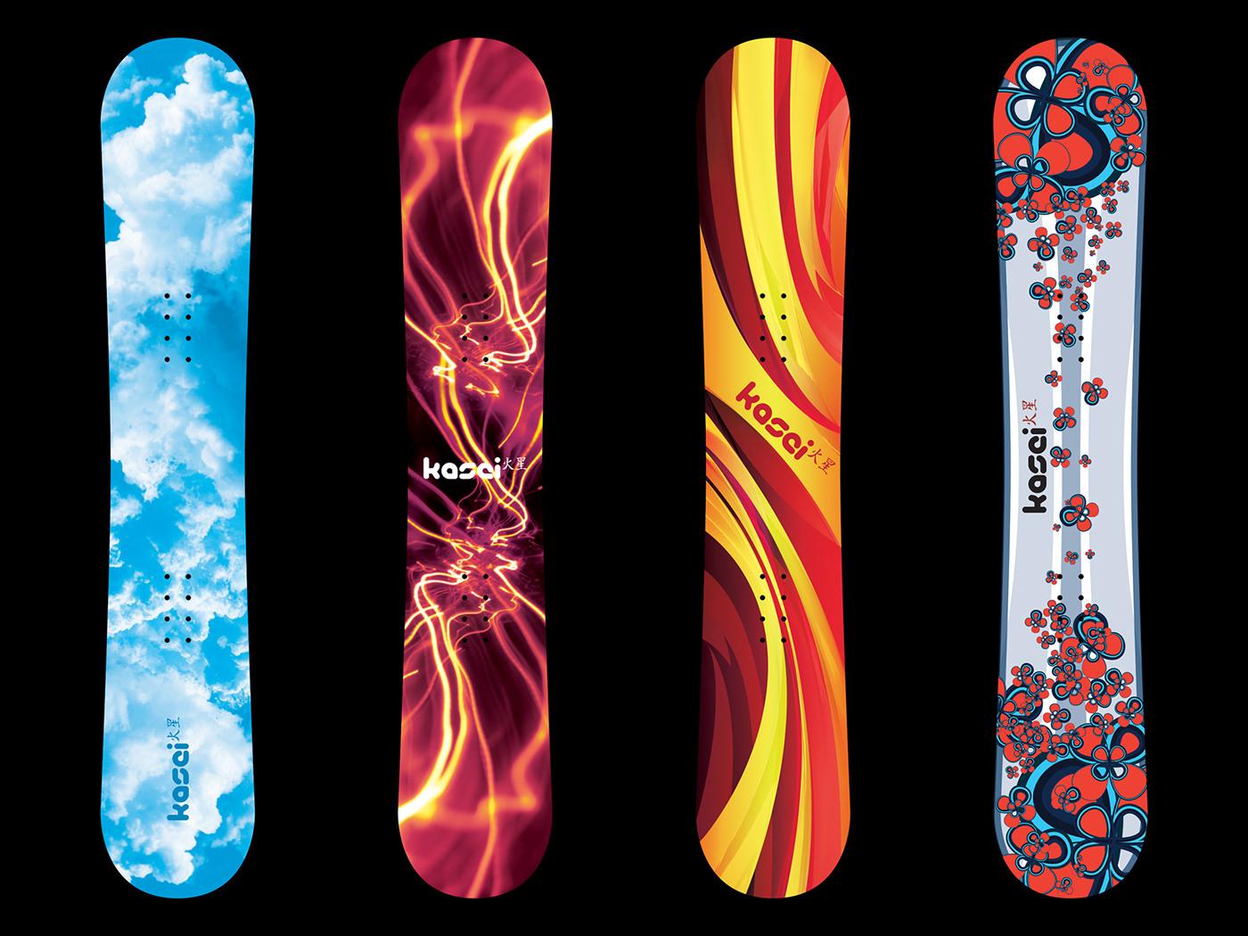 Snowboarding snowboard  graphics