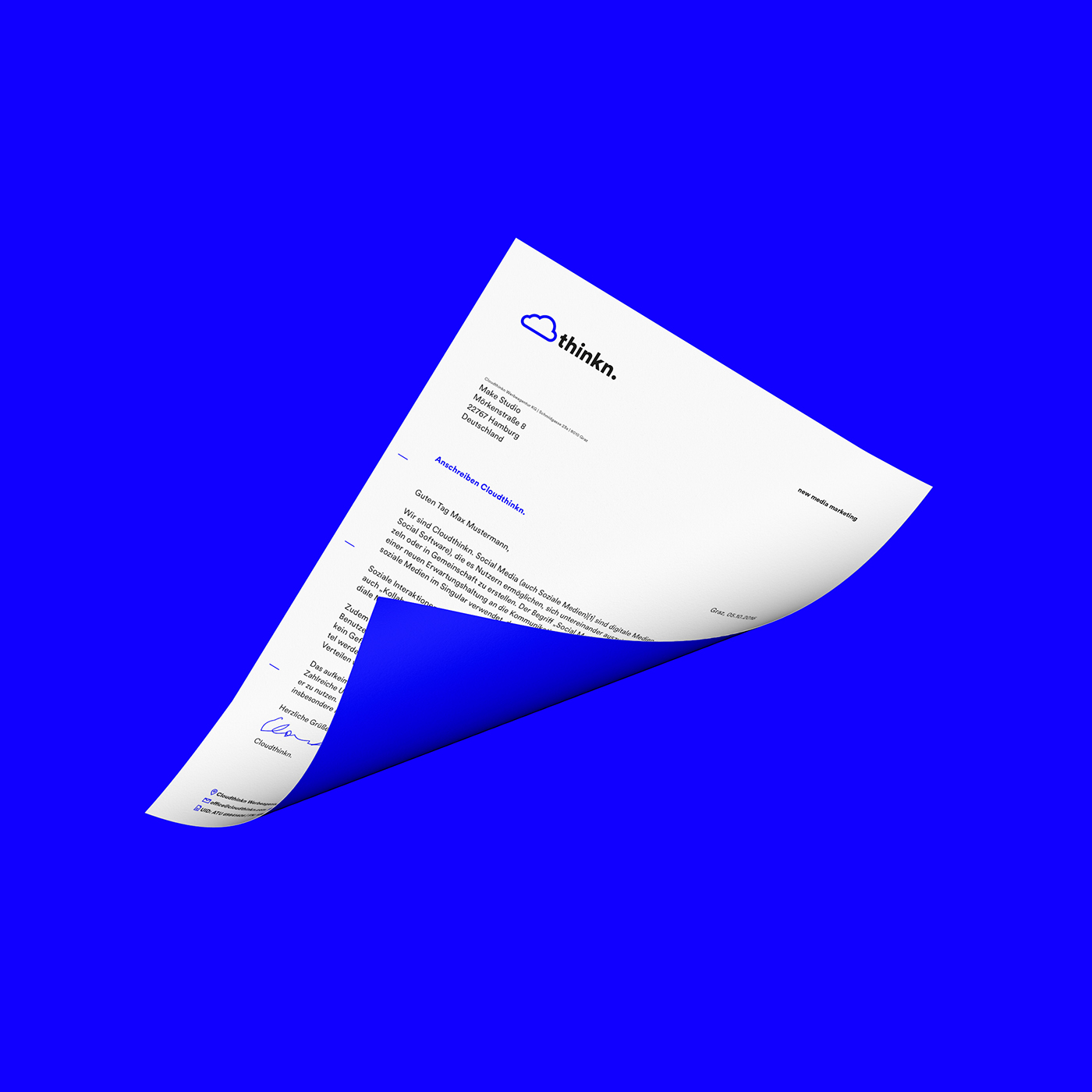 branding  madebymake cloudthinkn Corporate Design icons