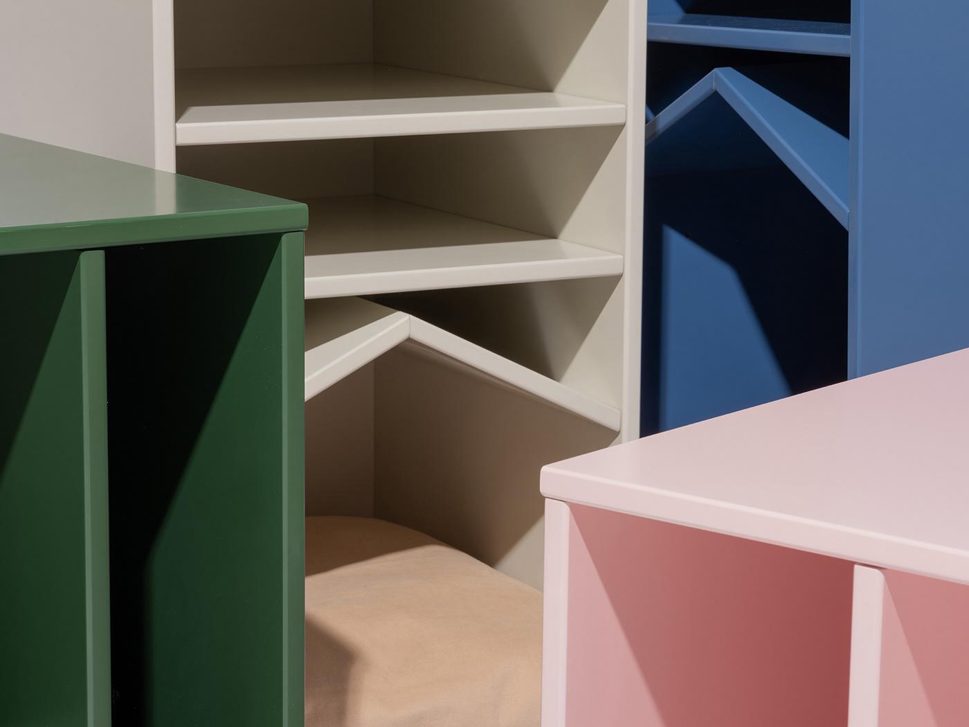 Image may contain: wall, indoor and box