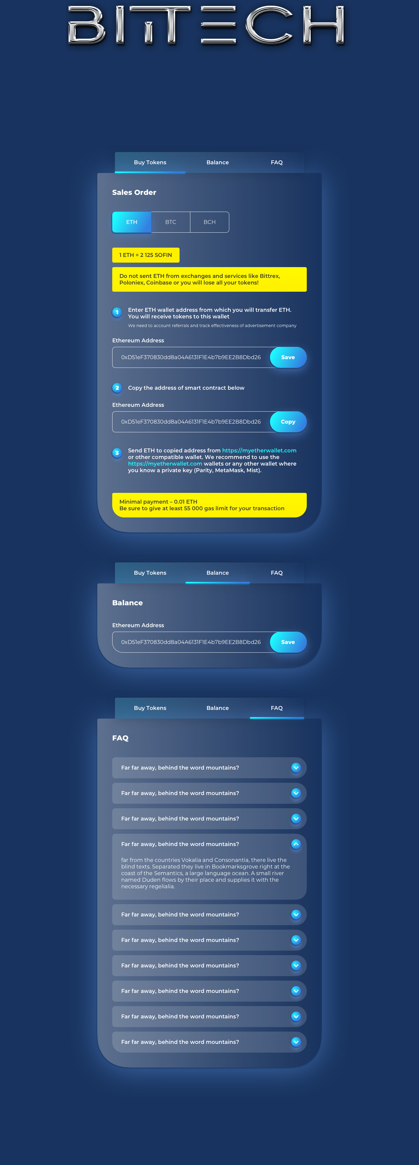 token token sale chart roadmap Ico landing page Cyberpunk cryptocurrency Crypto design distribution