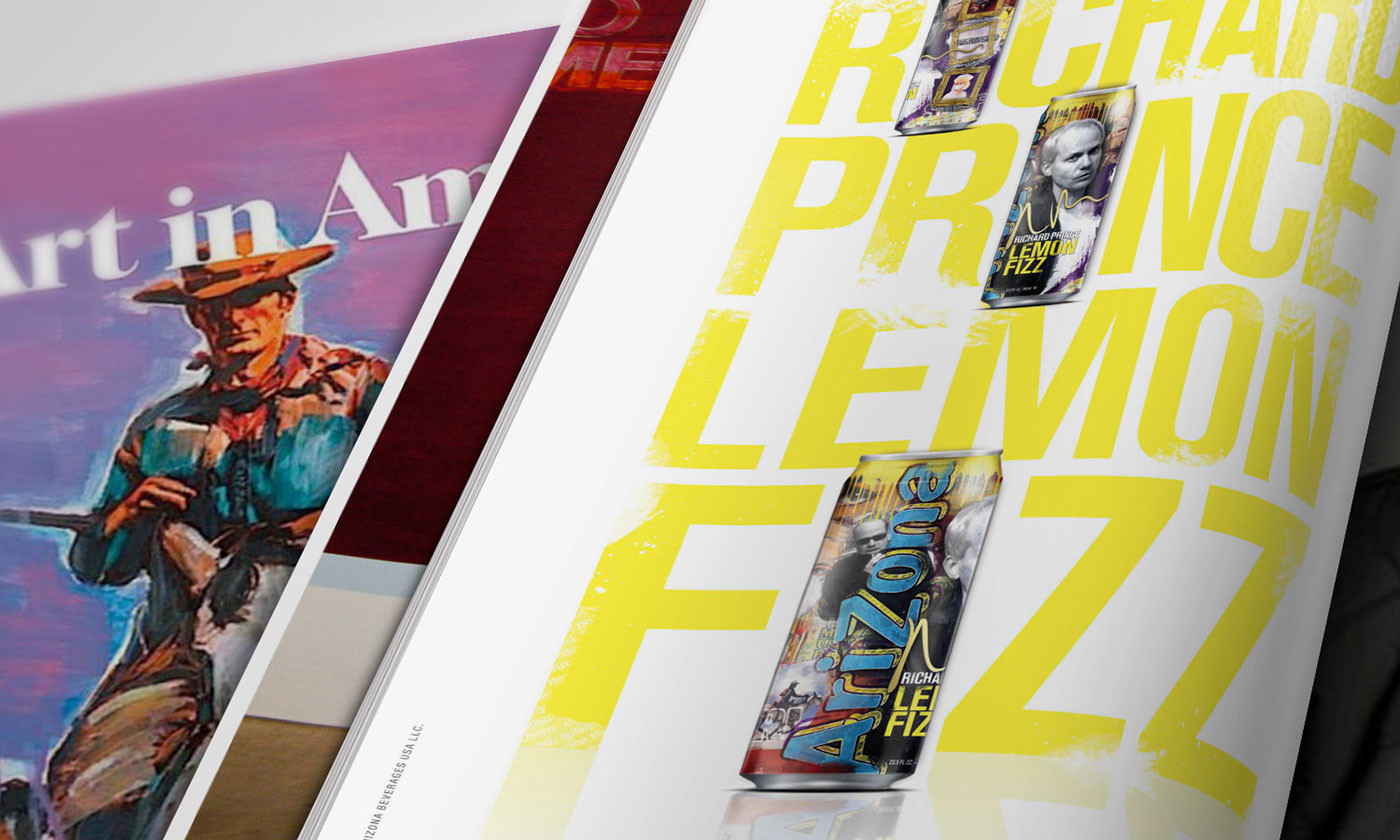 arizona,Mpire,richard prince,Lemon Fizz,soda,package design ,product development,print,art,poster,Magazine Ad,campaign,fine art
