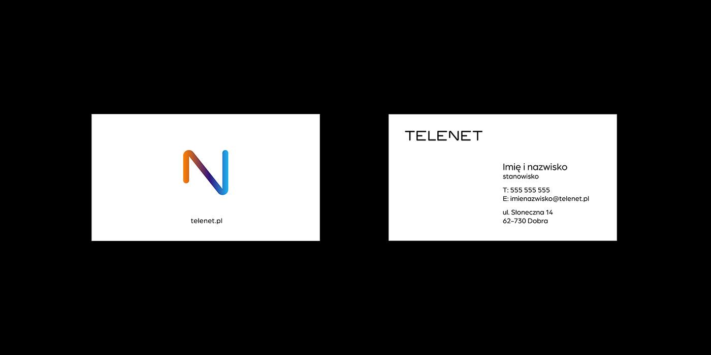 paralela – telenet business cards