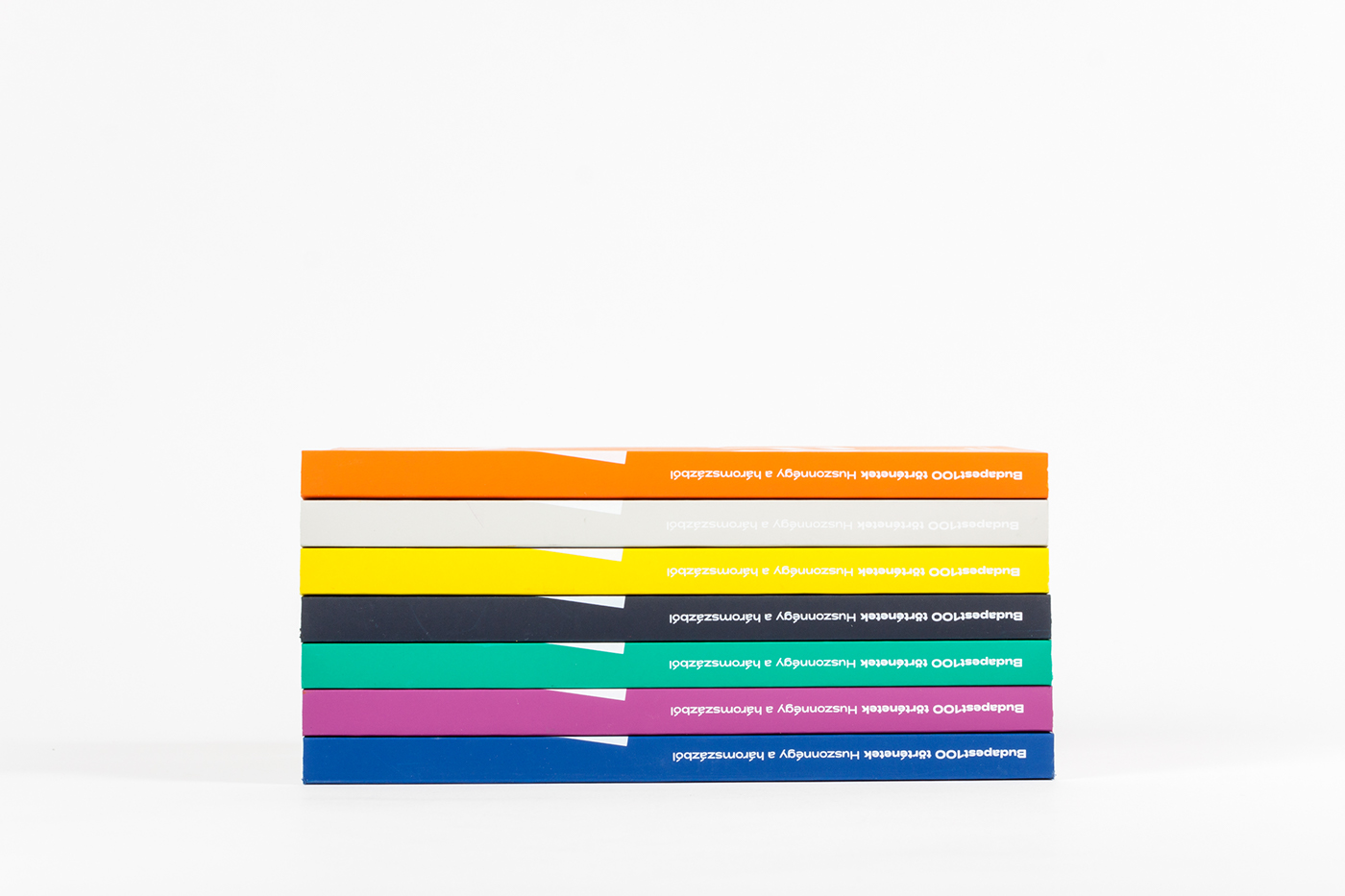 budapest book houses color Layout grid history Oral History Screenprinting offset