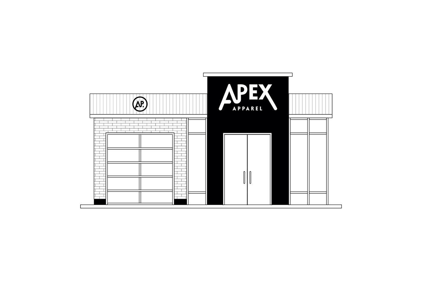 drif Clothing Apex apparel Cars graphic design