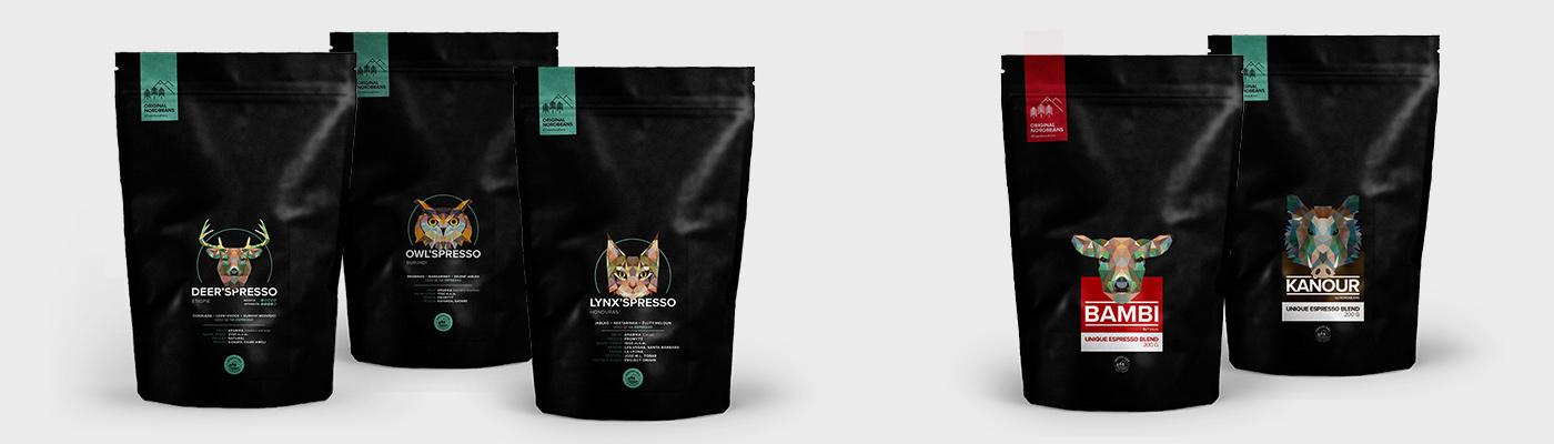 Coffee roasters espresso Packaging