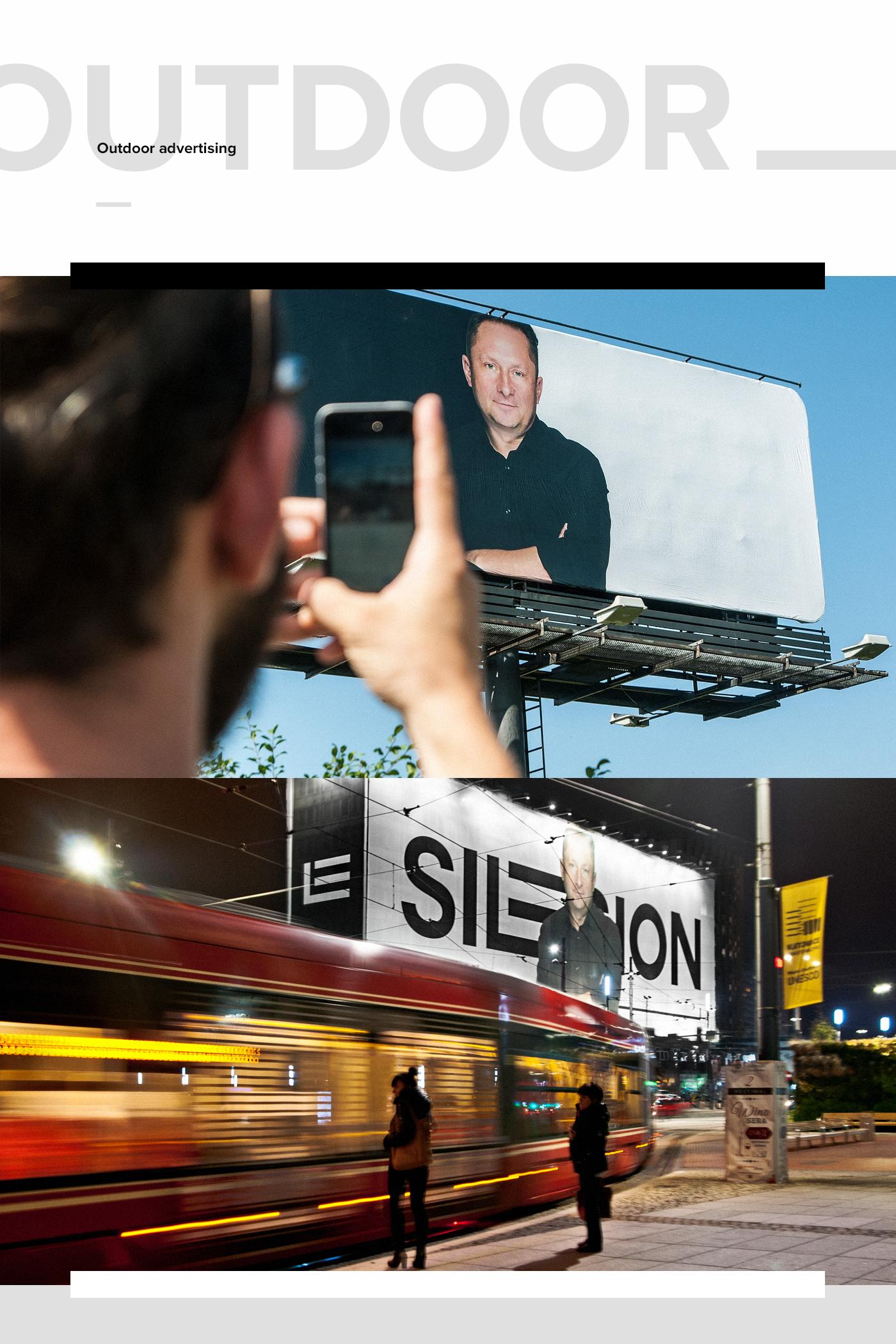 Platform silesion Webdesign minimal typography   modern poland news creogram animation