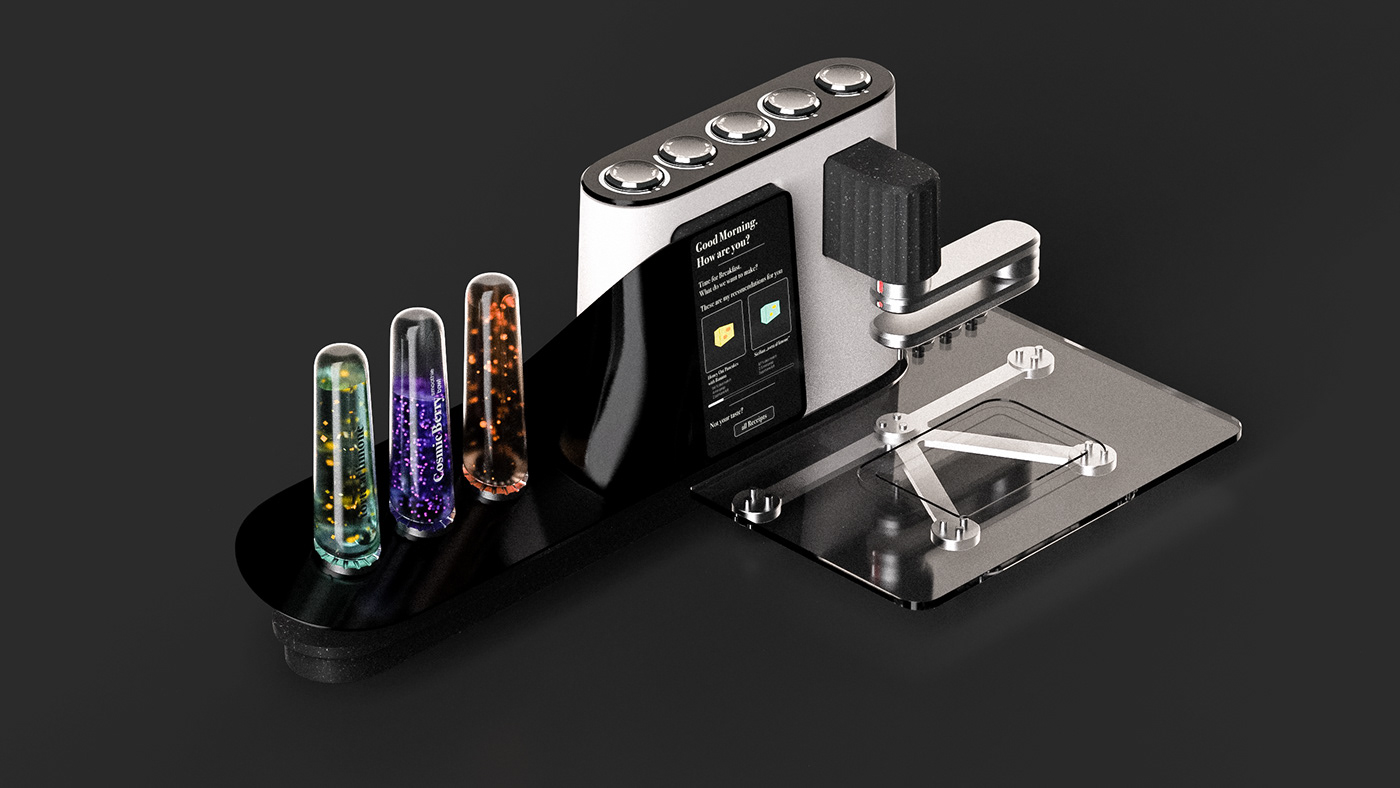 3Dprinter Food  future industrial industrialdesign Printing product productdesign speculative
