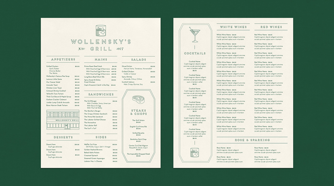 Image may contain: menu and screenshot