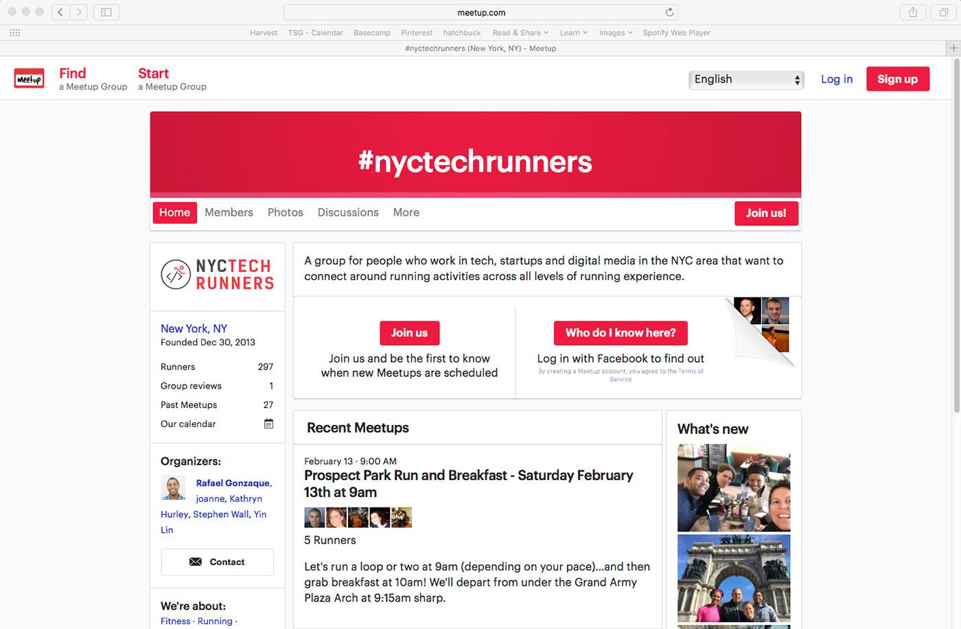 new york city Technology running fitness startups digital media tech