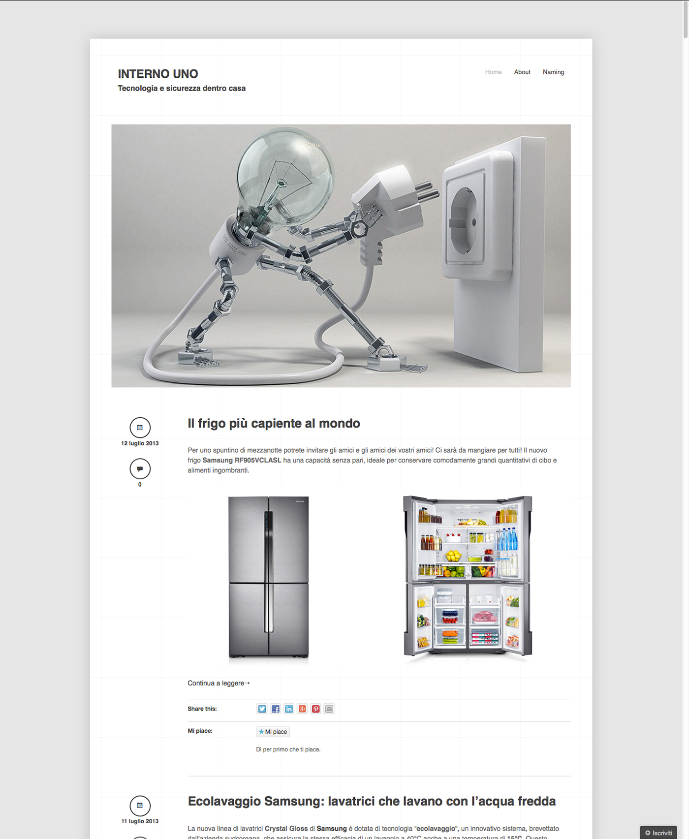 Interno uno on behance for Interno uno