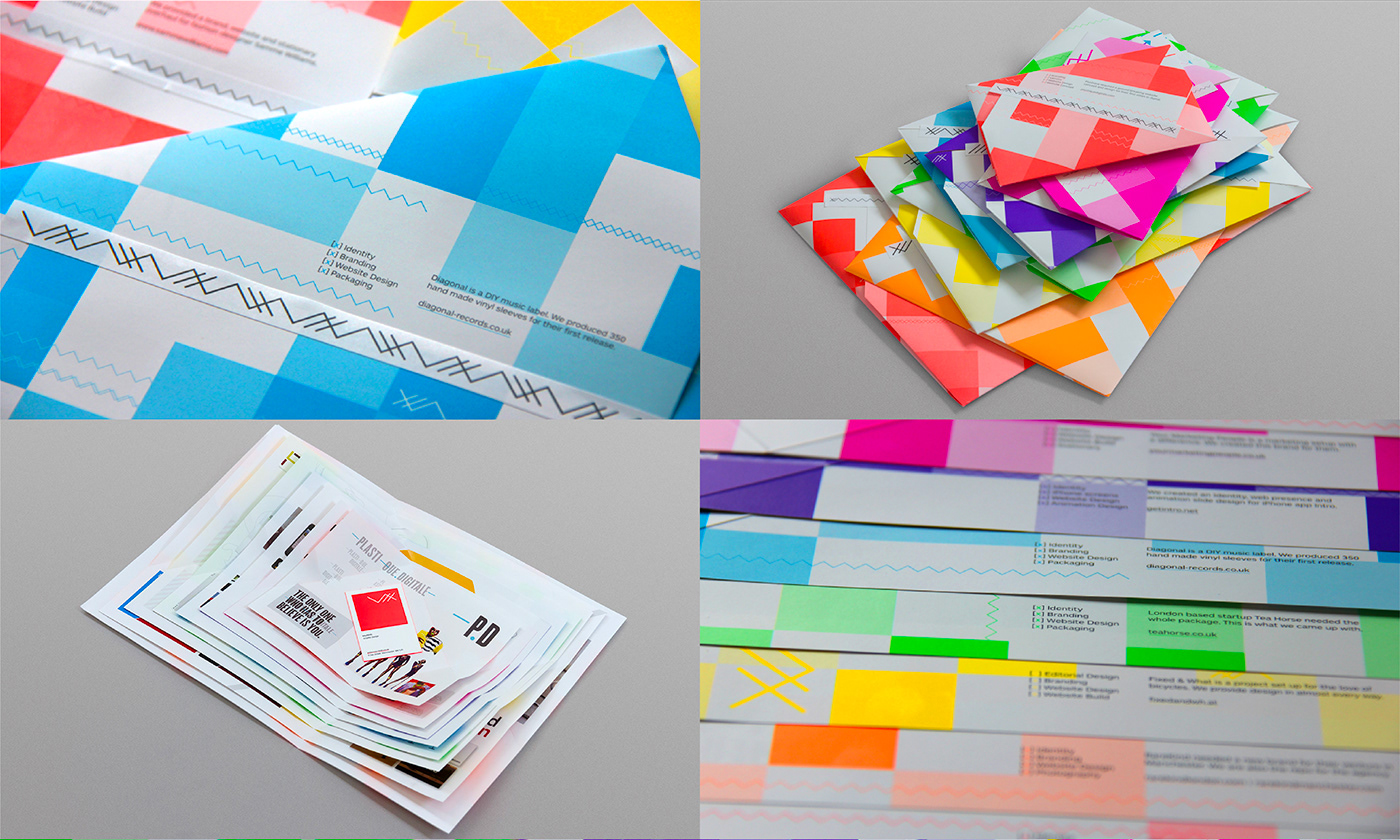 MayNinth mailer Mailout Direct mail pass the parcel Birthday design studio manchester
