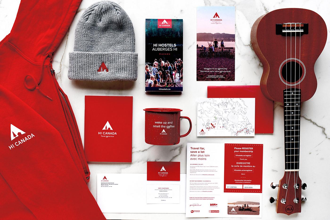 adventure apparel art direction  brand graphic design  Guide hostel map Promotional Travel