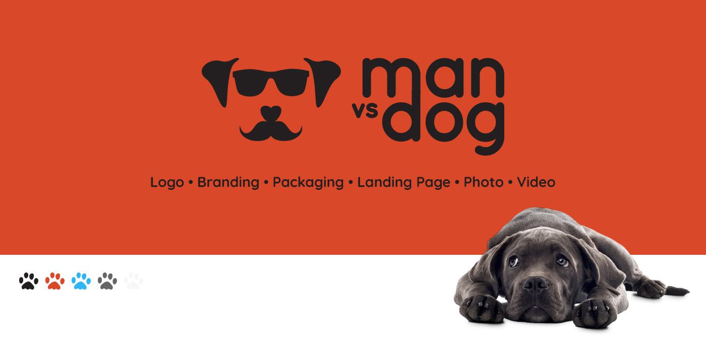 branding  logo landing page