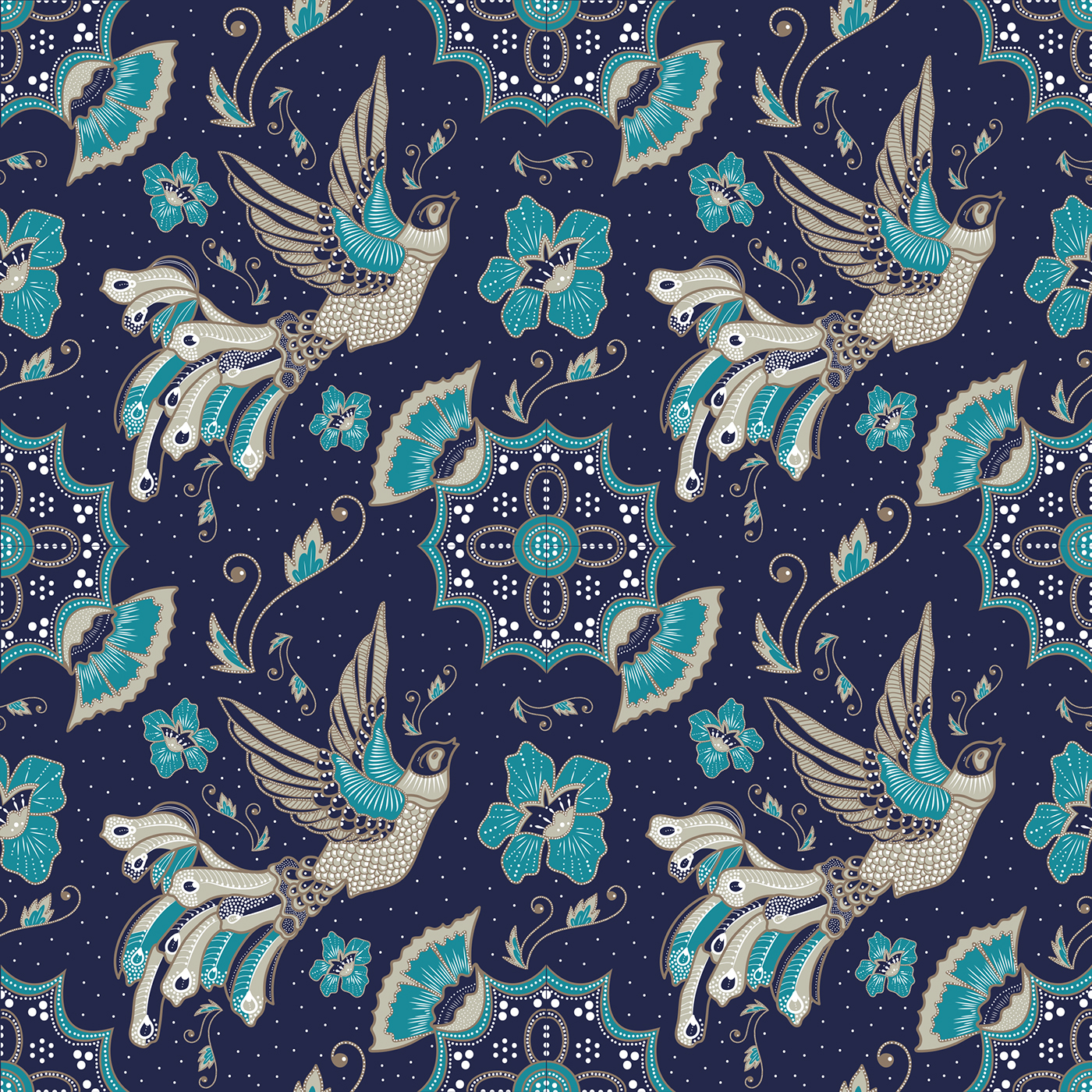 Batik Pattern Design On Behance