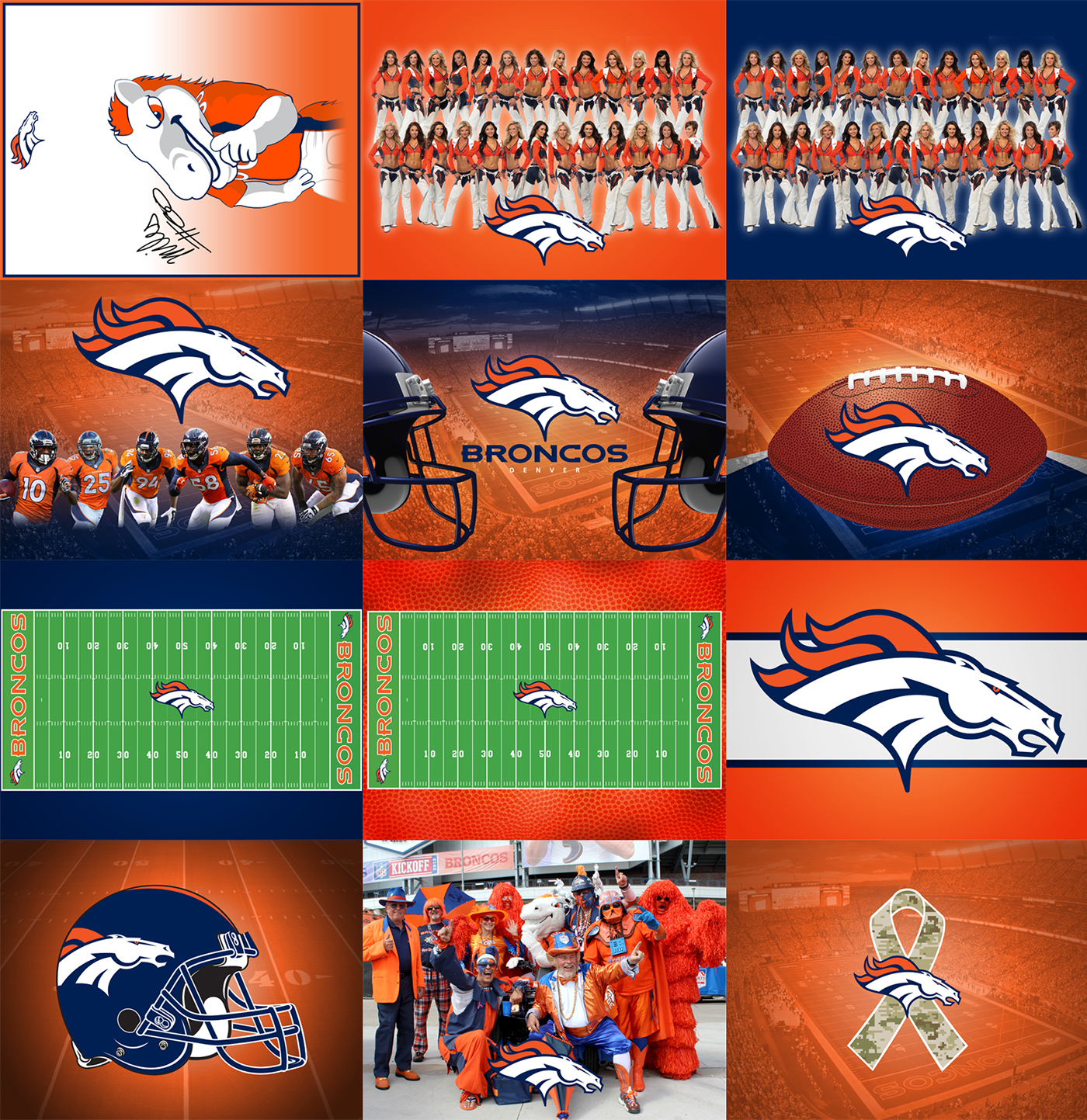 Denver Broncos And King Soopers Birthday Cakes On Behance