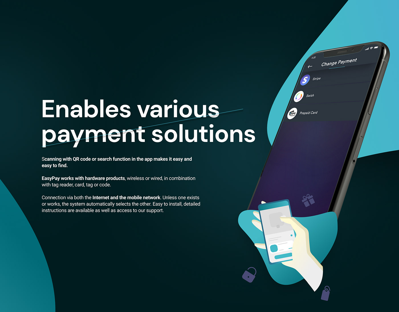 Payment solutions in fintech