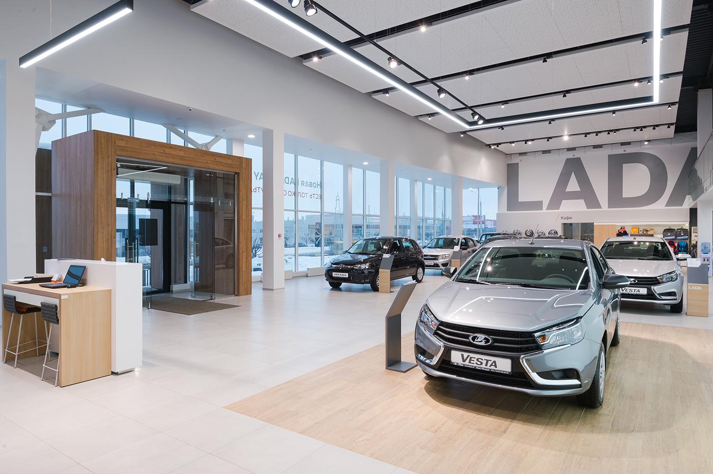 автосалон дилерский центр dealer center Cars Auto showroom Public Interior эффективный интерьер новый имидж new identity brand identity процессы processes