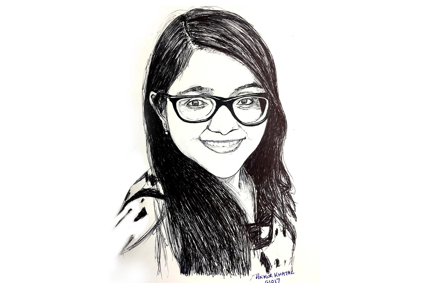 inktober2017 inktober pen sketch ILLUSTRATION  black White artisticpens
