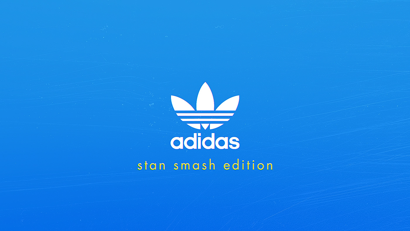 Adidas Stan smash edition logo design