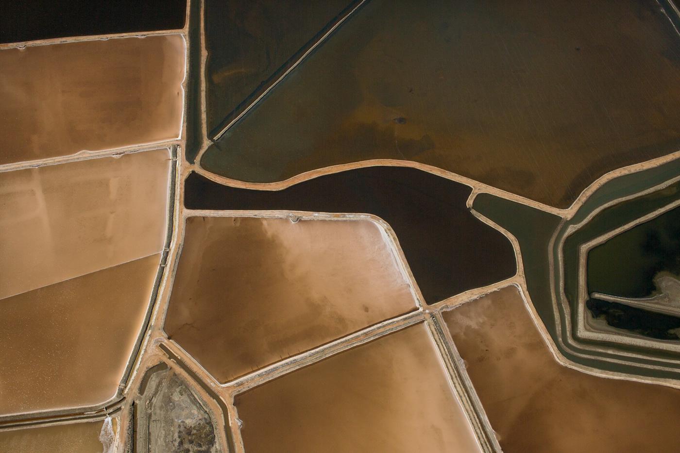 SEA CLOSED MAR DEFESO Renato Stockler Aerial Photography Brazillian photography Salt Salt farm