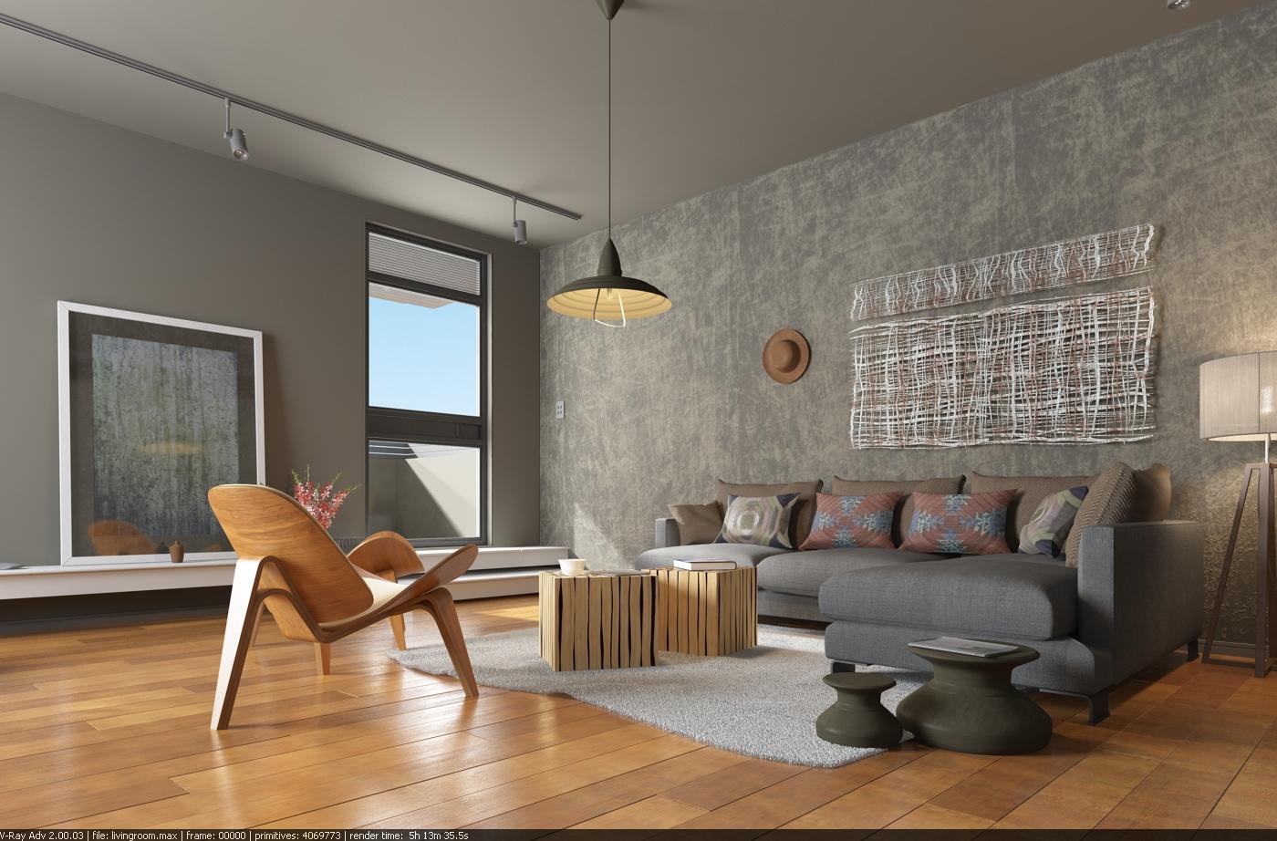 Living Room | Interior Rendering on Behance
