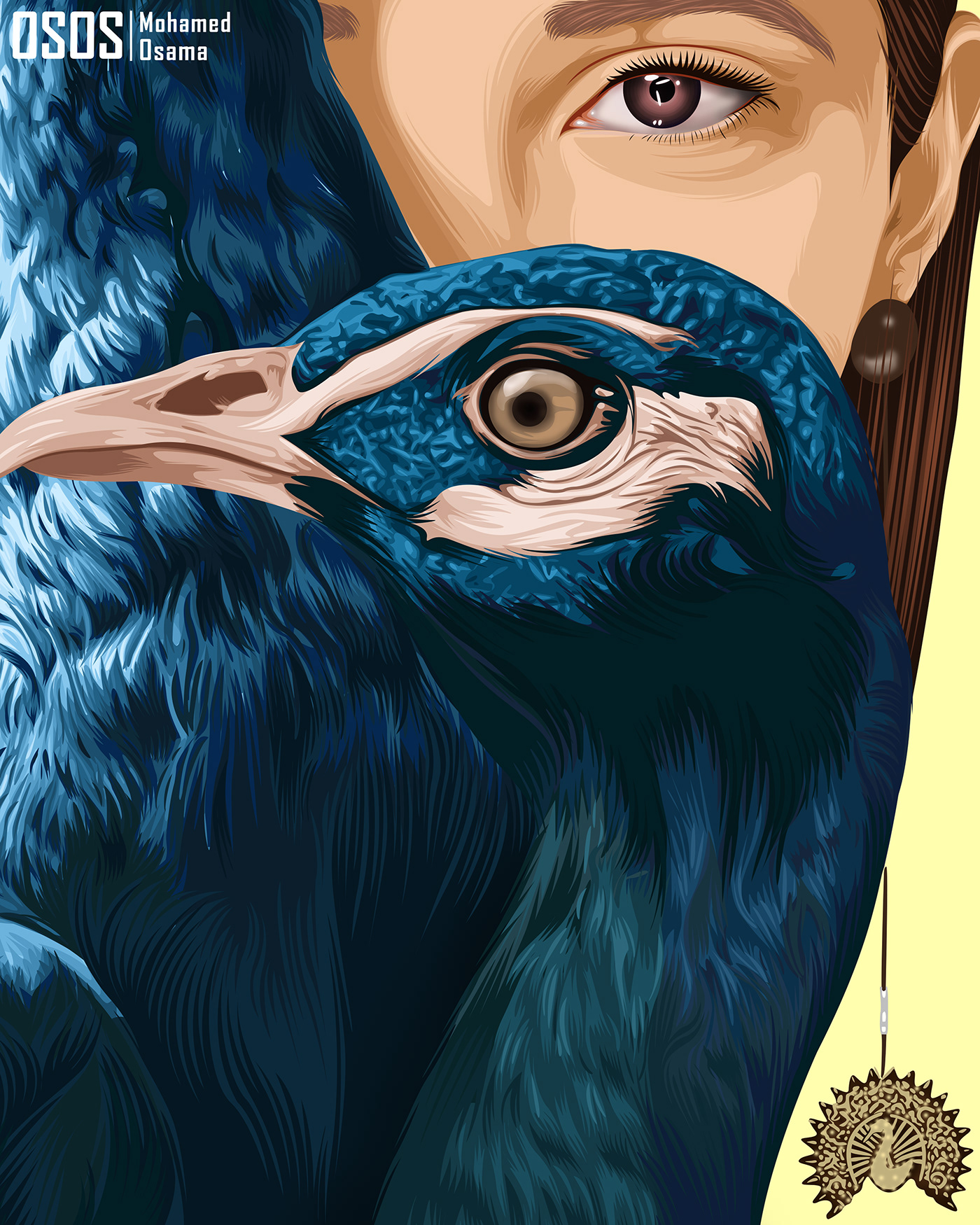 Image may contain: bird, animal and art