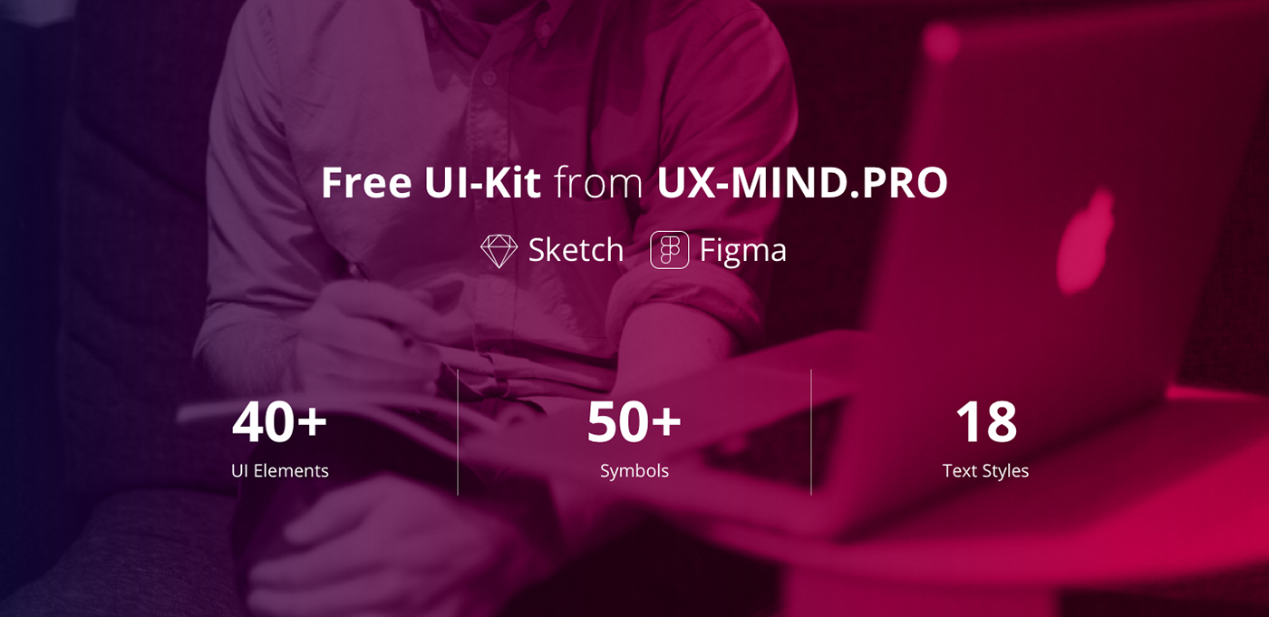 Free UI-Kit for Sketch & Figma on Behance