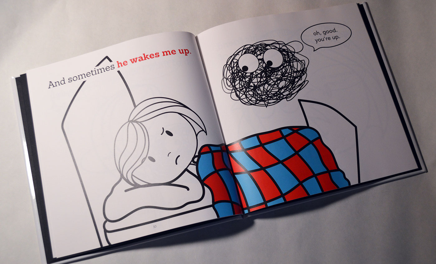 So I Wrote A Childrens Book About My Anxiety The Illustrations Were Done In Illustrator And Layout Was InDesign