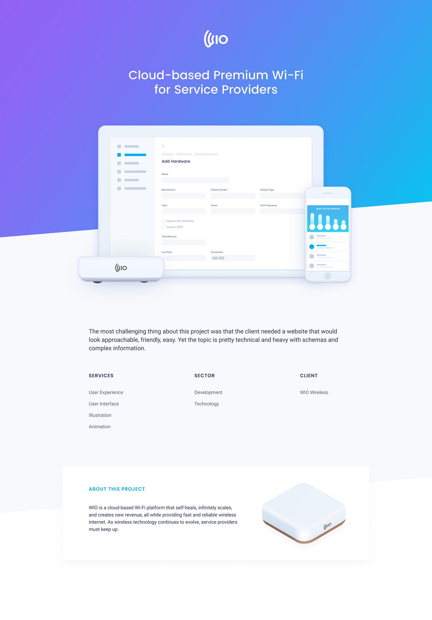 Webdesign ILLUSTRATION  service Website product Usability animation
