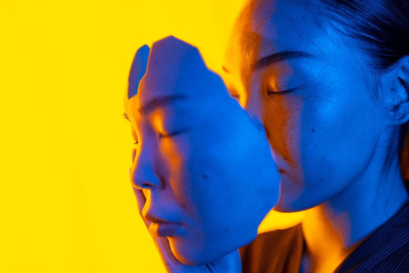 crypto Cyberpunk digital future mutant neon race reality Technology virtual