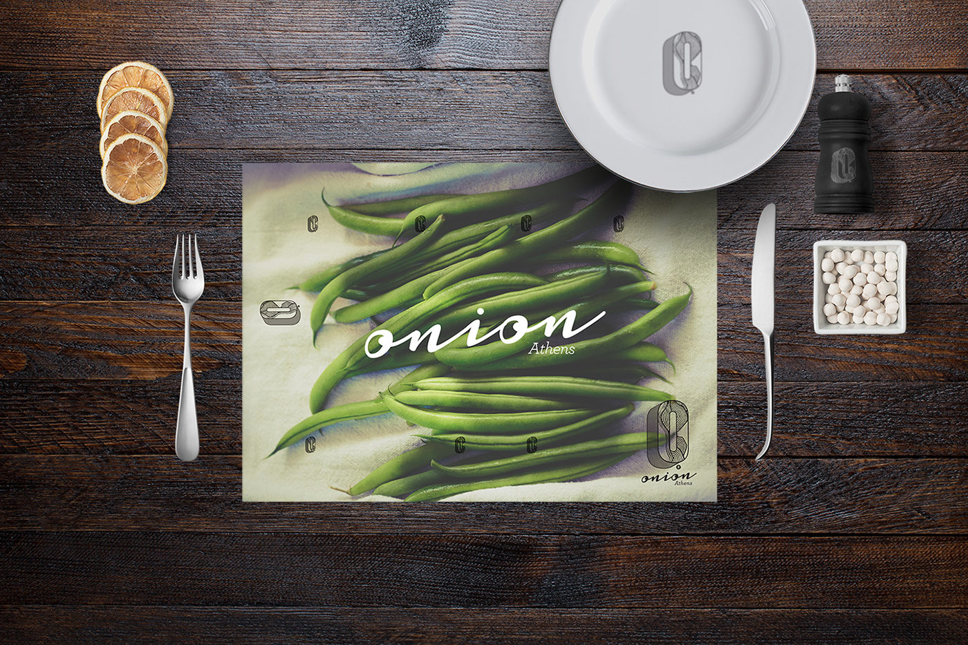 Greece Food  Experience cooking lessons Logo Design visual identity www.onionathens.gr traditional cuisine