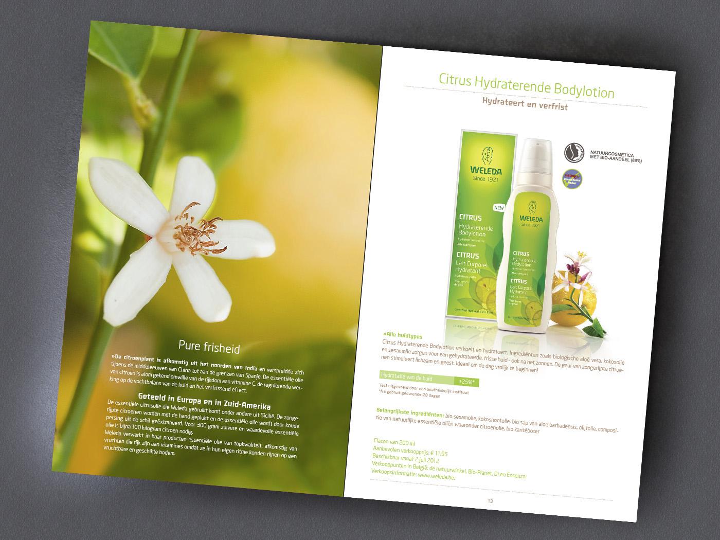 brochure folder cosmetics Product Info