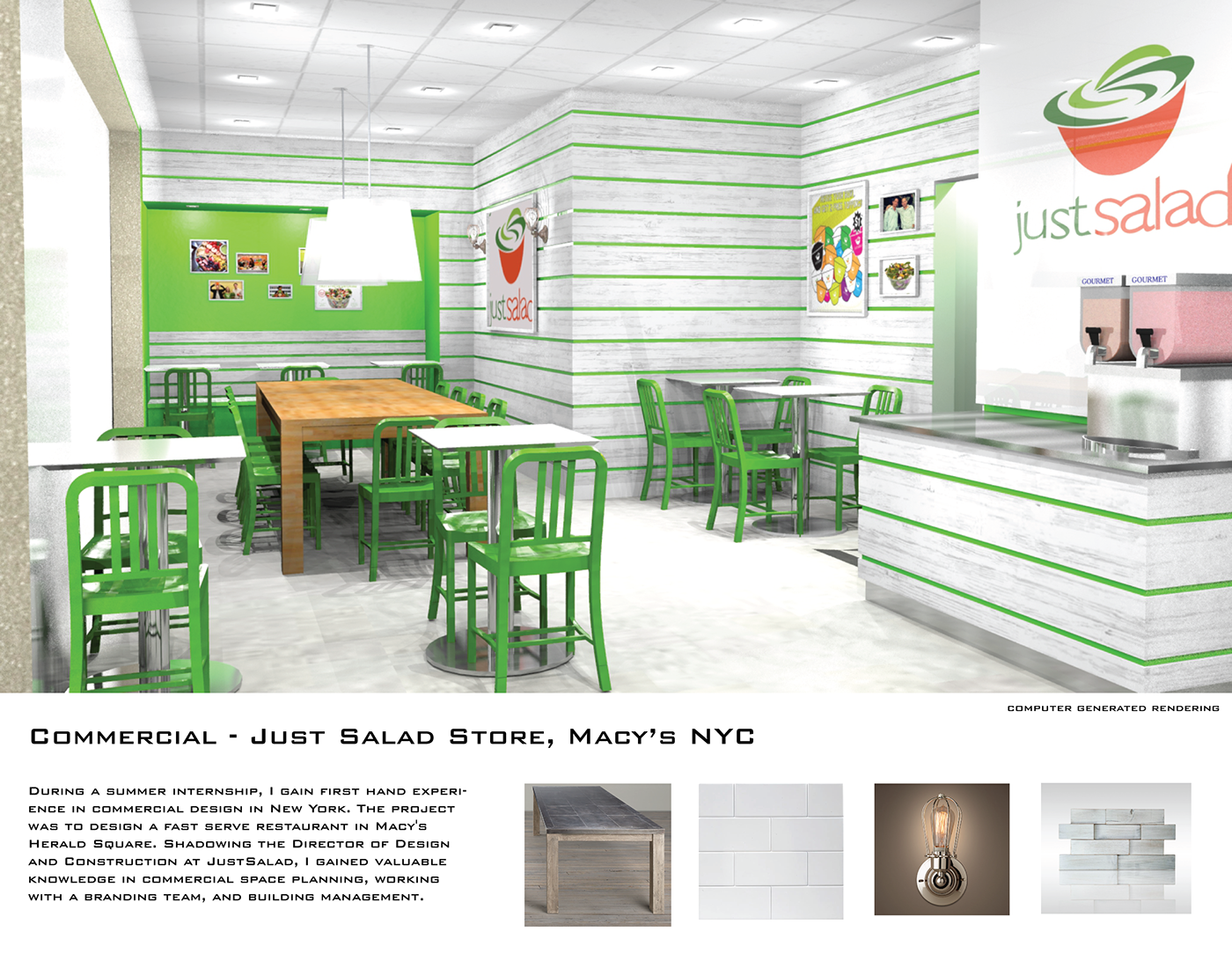 Commercial Just Salad on Behance