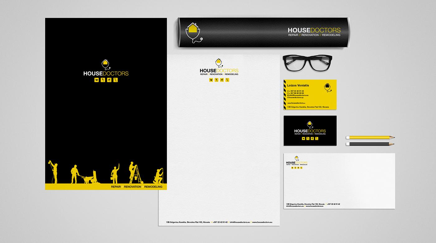 corporate image renovation logo design business cards
