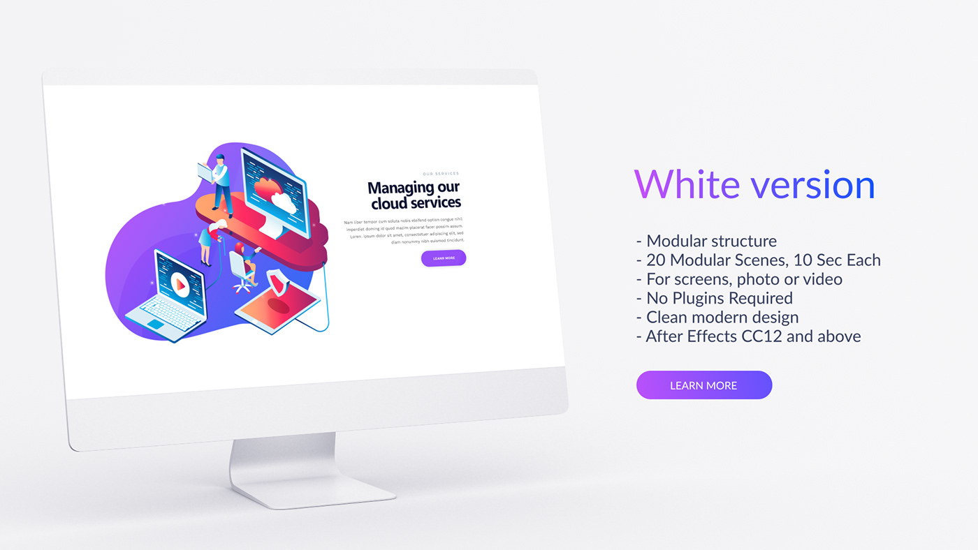 Desktop Website Presentation - 1