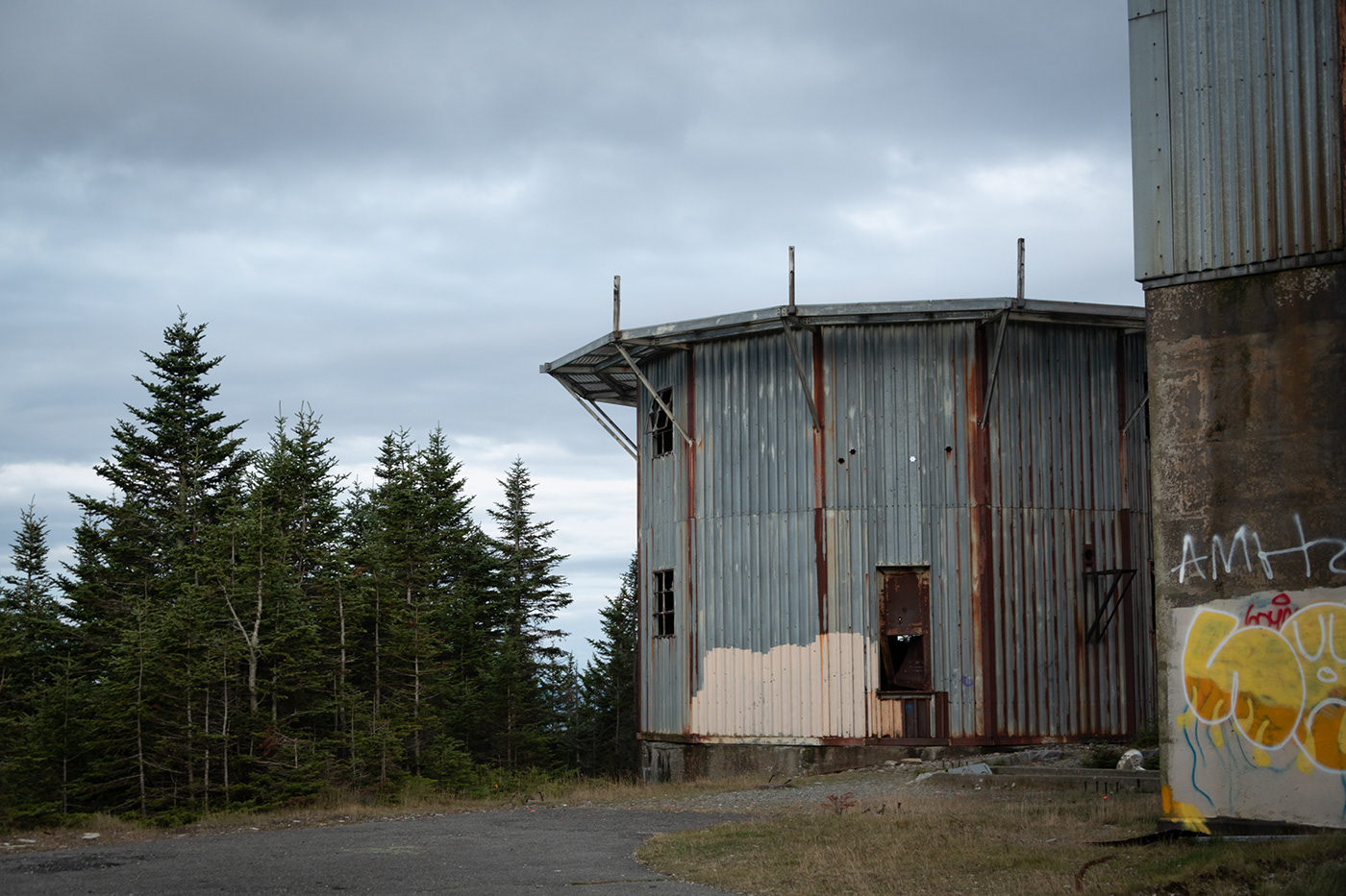 abandoned exploration Military New England Nikon D850 old rusty view