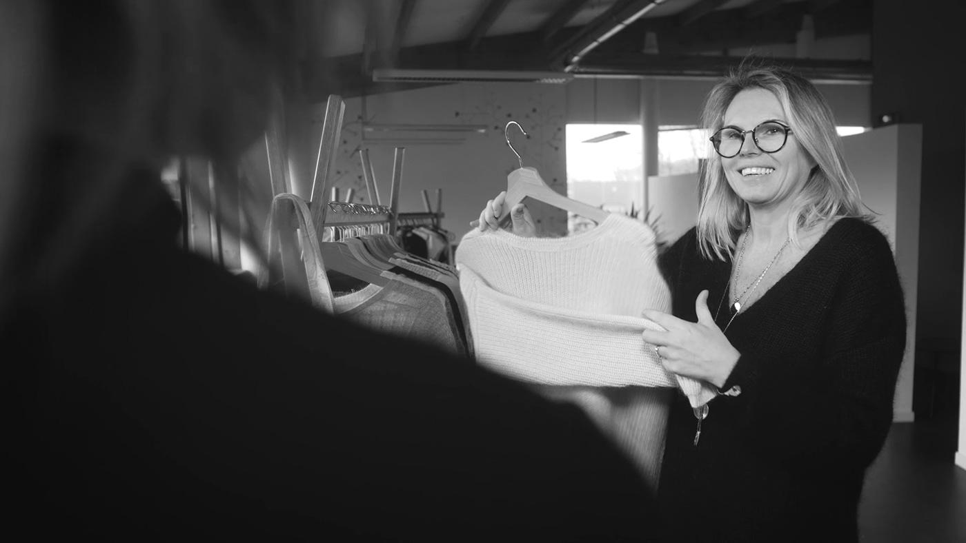 Fashion  art-director black & white ethic equity fair-trade fabric