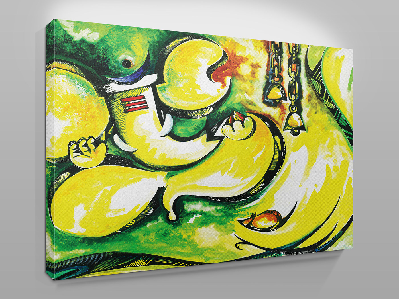 canvas painting design preview template smartpsd on behance
