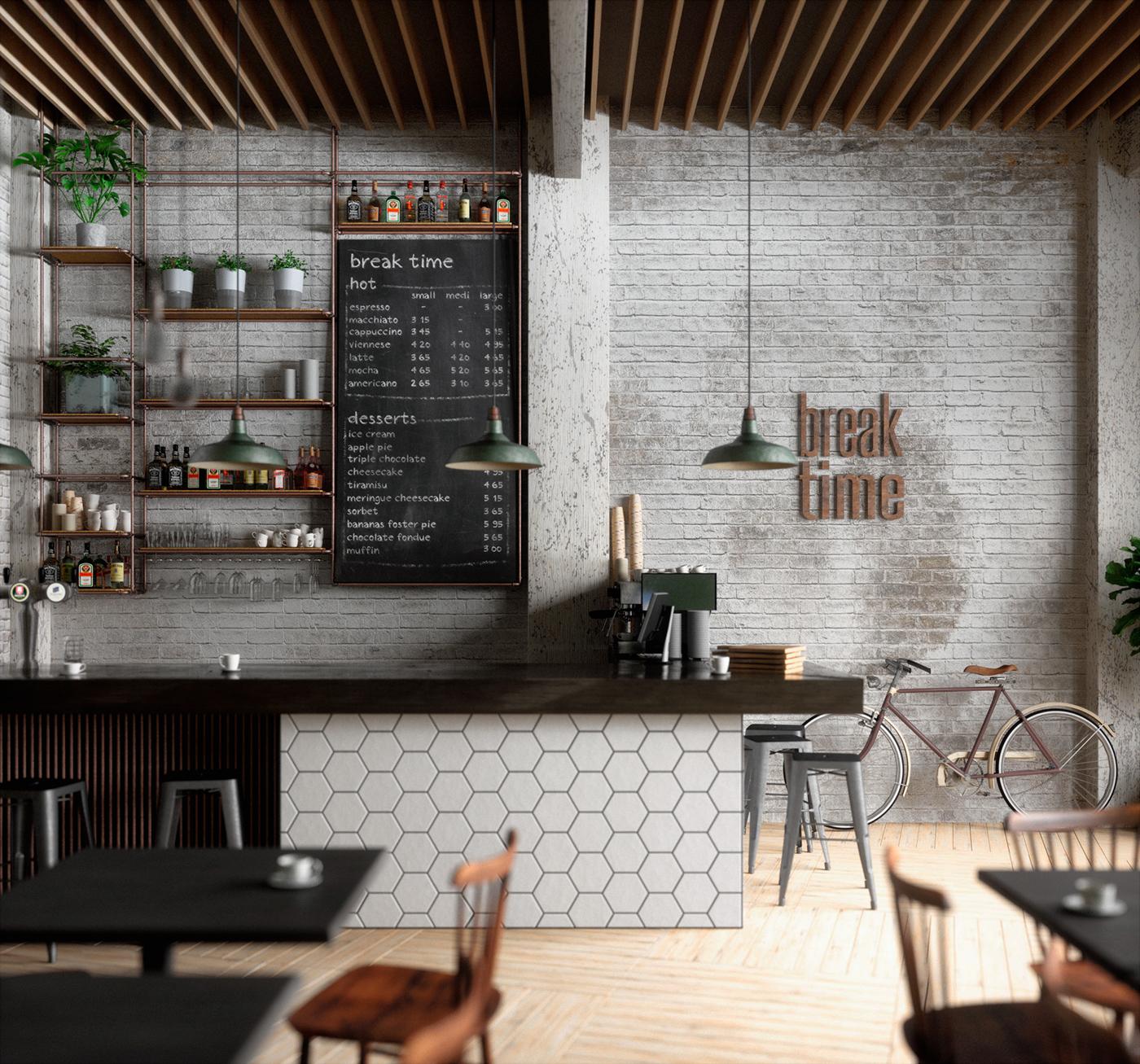 Design Decor Shopping Appstore For: Break Time Café On Behance