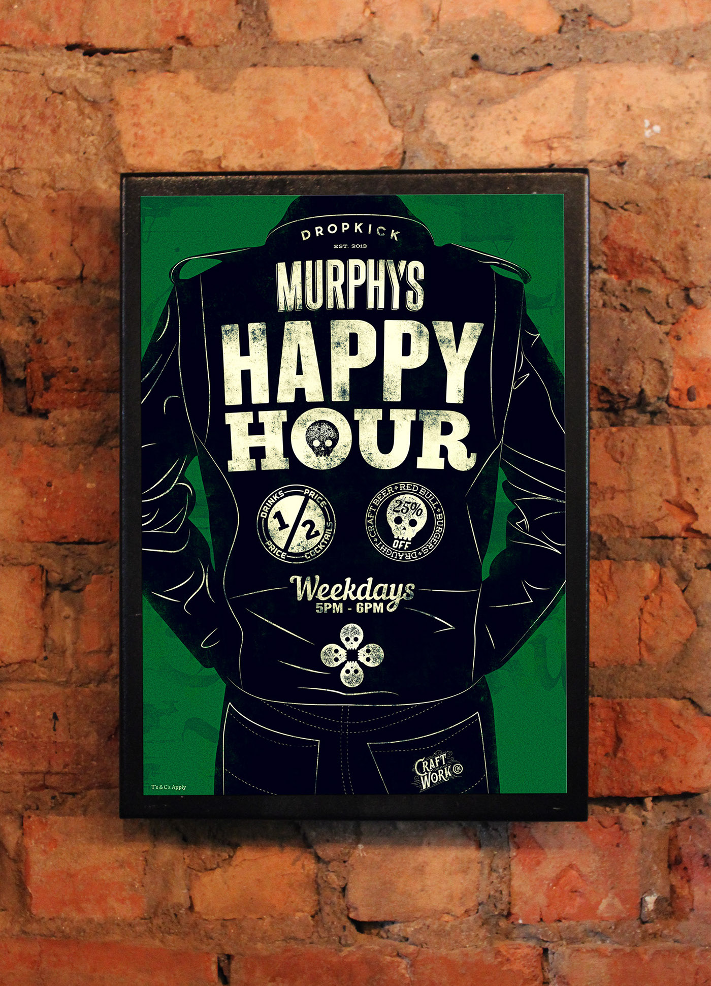 poster Happy Hour Poster pub poster Pop Art classic posters Vintage Posters retro posters typographic