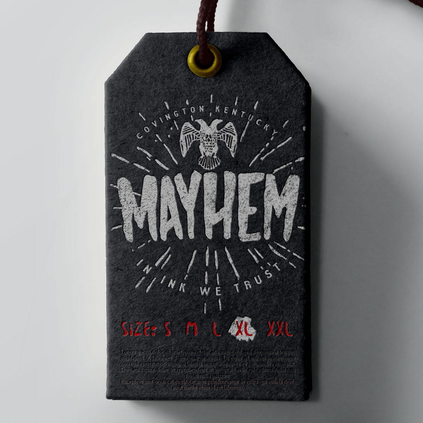hand made font hand drawn font Free font font mayhem font Mayhem free free typeface