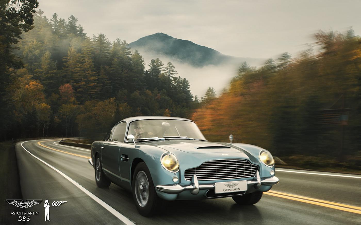 Aston Martin DB5 James Bond car