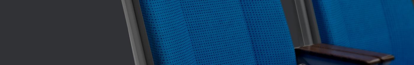 seats Render train blue growag tech black dark minimalistic simple