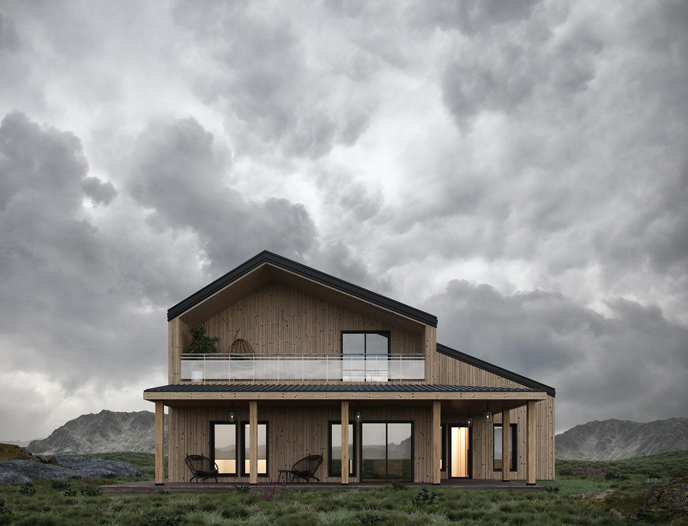3d визуализация  architecture design архитектура дизайн