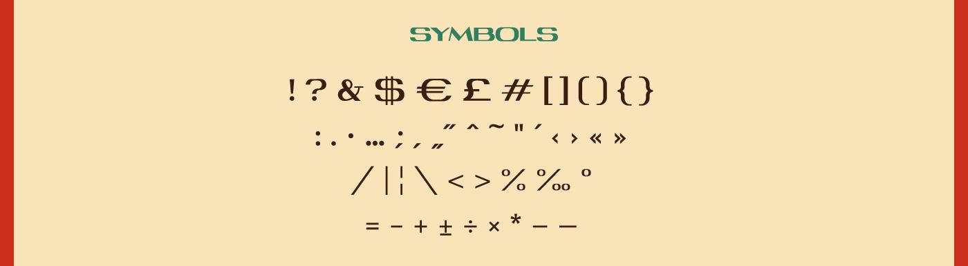 font free Typeface type font family download Pan