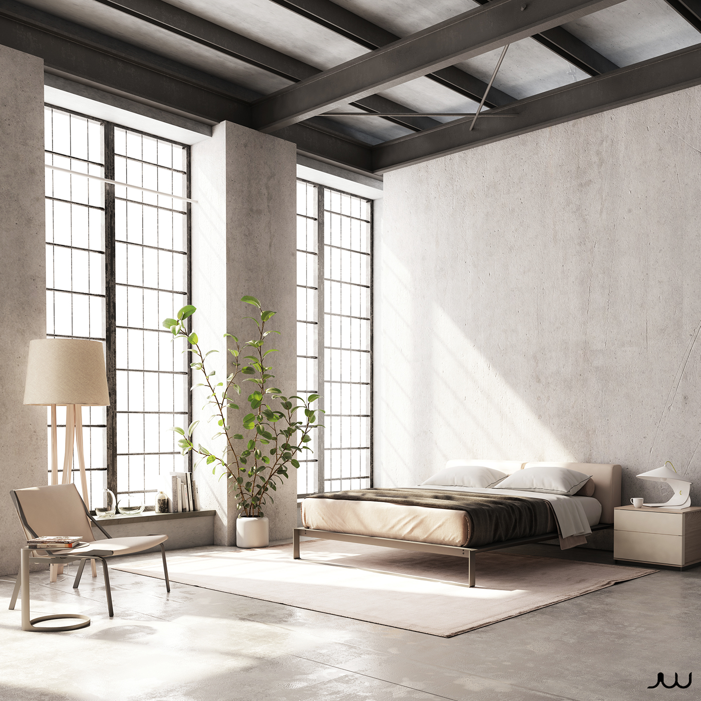 Set Furniture Renderings Federico Churba Designed On Behance # Muebles Federico Churba