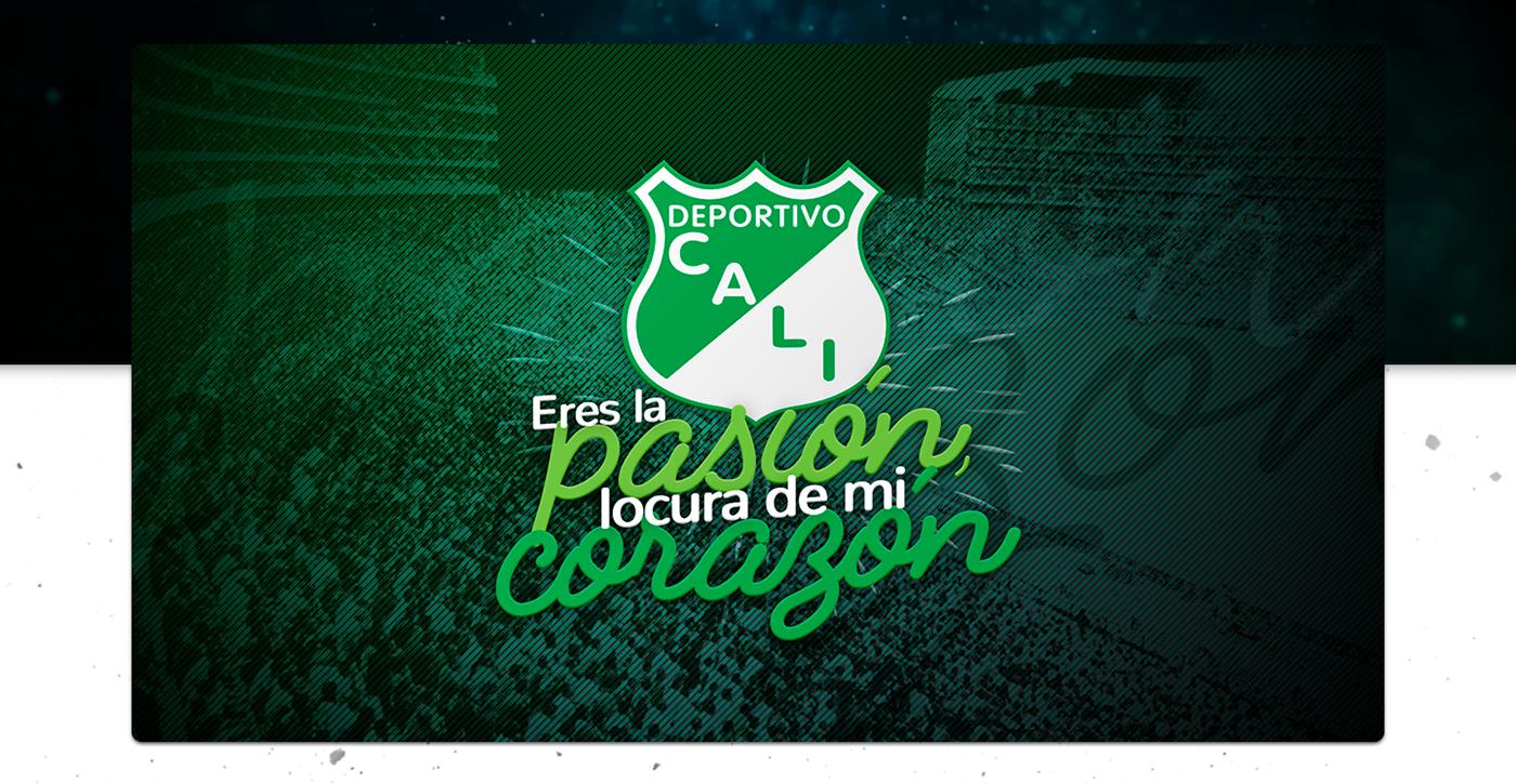 deportivo cali soccer Futbol sports Cali jorge delacruz america verdiblanco social network social media